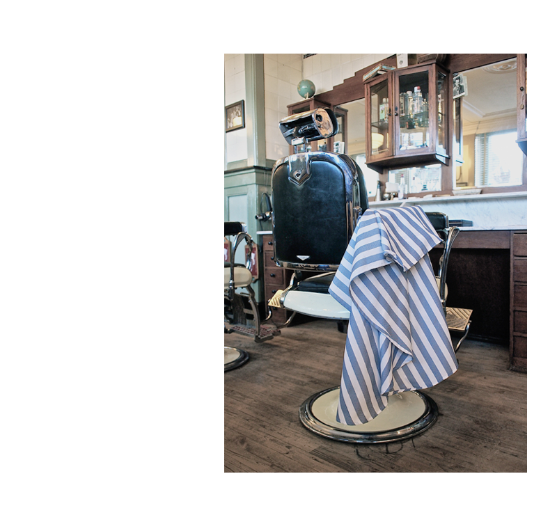 Corleone barber cape